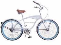 China manufacturer specialize beach cruiser bicycle for women ,OEM 26 beach cruiser bicycle frames Aluminium Alloy Handlebar La