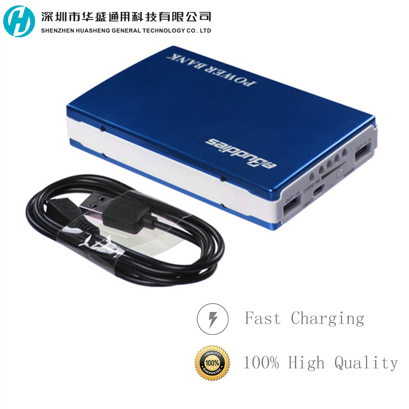 10400mah Dual USB charger Mobile Portable Power Bank For Smartphone / Tablet / Blackberry