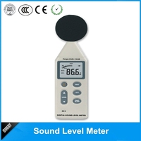 multifunctional portable electronic sound level indicator meter