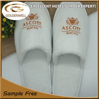 hotel guest spa coral fleece slippers for Ascott hotel guest slippers