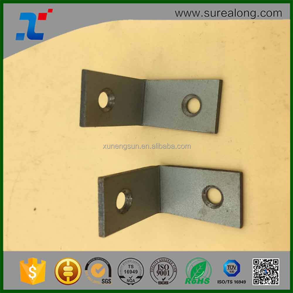 Raw material Corner bracket furniture hardware Precision metal stamping
