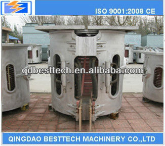 0.05-2 ton tilting rotary furnace/lead melting equipment/ electric furnace for copper scrap