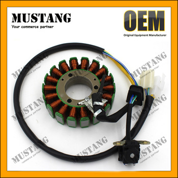 OEM Service Motorcycle Spare Parts EN125 AN125 GN125 AX100 AG100 GS125 Magneto Stator Coil For Suzuki