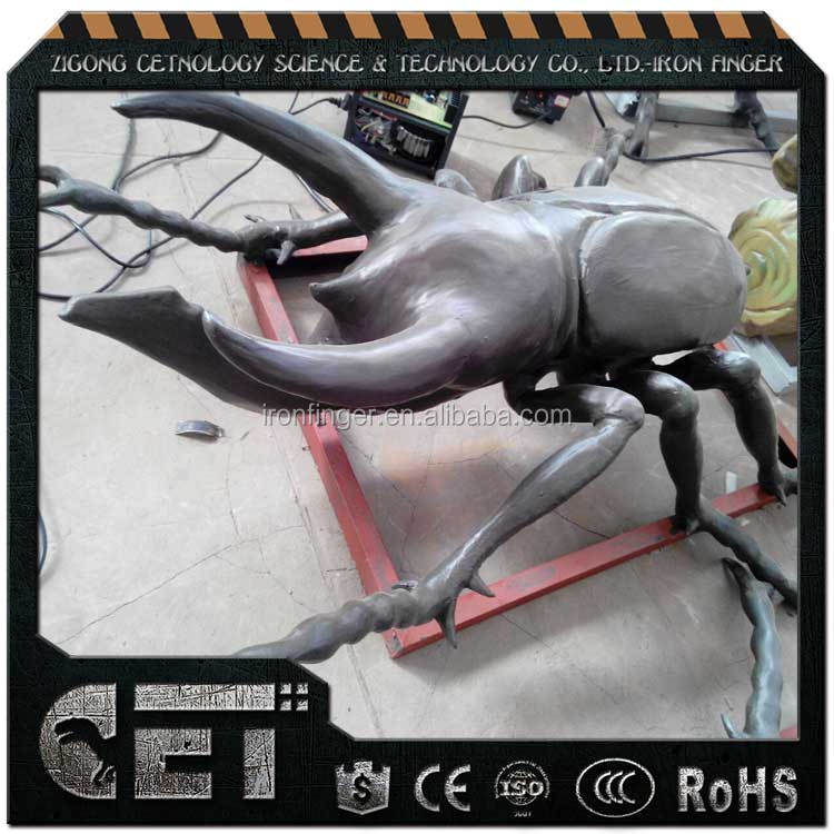 lifelike bug replica foam simulated animals animotronic insects beetles