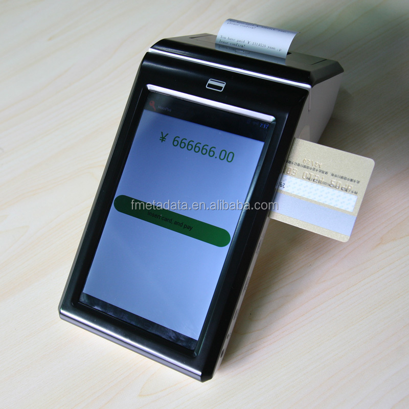 Mobile POS Terminal with printer NFC card reader POS Machine