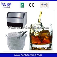CE approved 100kg/24h square ice cube maker for cooling red wine