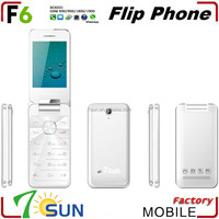 china wholesale flip F6 telefonos celulares