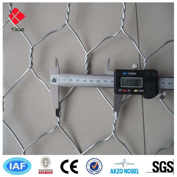 galvanized / pvc coated hexagonal wire mesh / chicken wire mesh for animal fence
