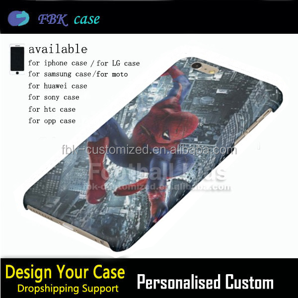 Hot Sell New Design The Amazing Spiderman Cell Phone Case For iPhone 6 Case,Cases For Iphone 6 And 6s