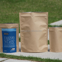 Food Grade Kraft paper bag for Whole Wheat Flour Packaging