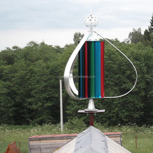 Below rated wind speed, it produce much power than others! 400W home system vertical wind generator turbine