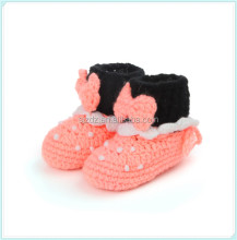 2015 new design fashion knitted spanish baby shoes