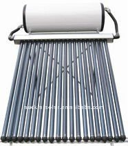EN12976 High Pressure Compact Heat Pipe Solar Water Heater System