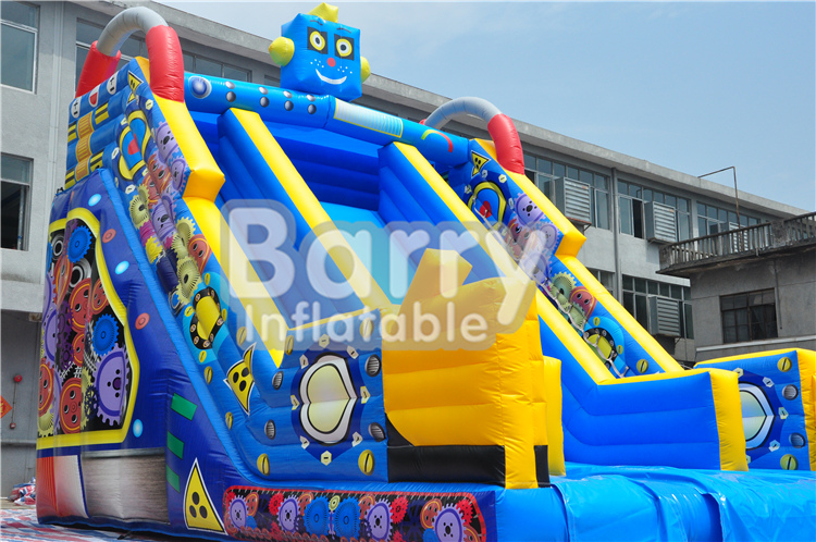 inflatable robot <strong>slide</strong> in stock, attractive inflatable stock <strong>slide</strong> BY-DS-R002