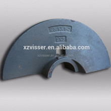 Asphalt Paver Parts the right side of the blade with the low price