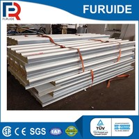 House prefabricated metal stainless steel sandwich panel roof price