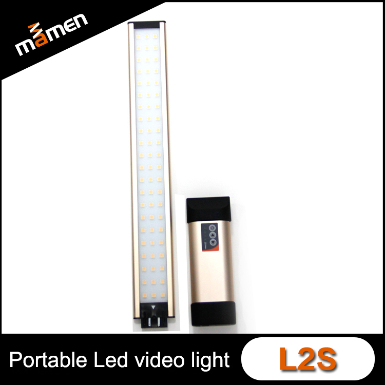 Slim Colorfull Portable Led Video Camera Light L2s Professional Shooting Film Led Light Air Series