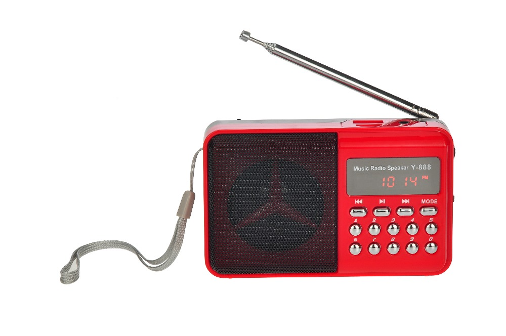 pocket mini fm radio speaker music <strong>player</strong> with usb port tf card slot power off memory mp3 <strong>player</strong>
