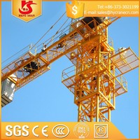 Chinese rail QTZ50 tower crane specification