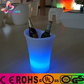 multi-functional changing color party round cooler electric