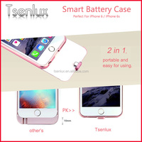 China supplier new design battery case rohs power bank 2200mah external battery charger/mobile for iphone 6