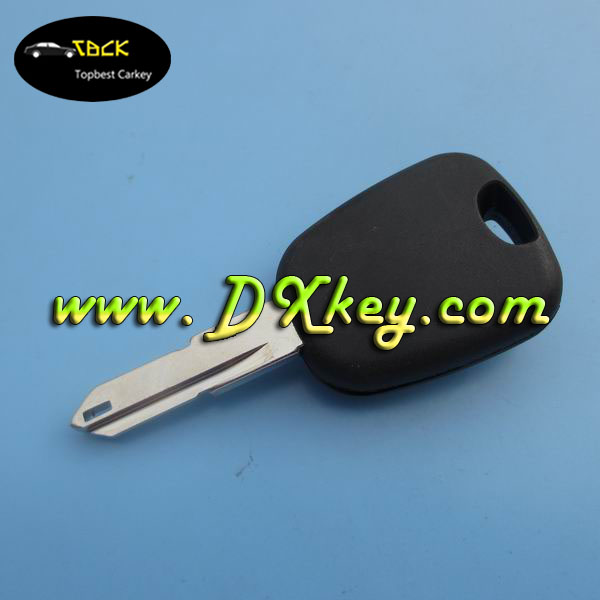 Topbest transponder key for Peugeot 206 key with ID46 chip