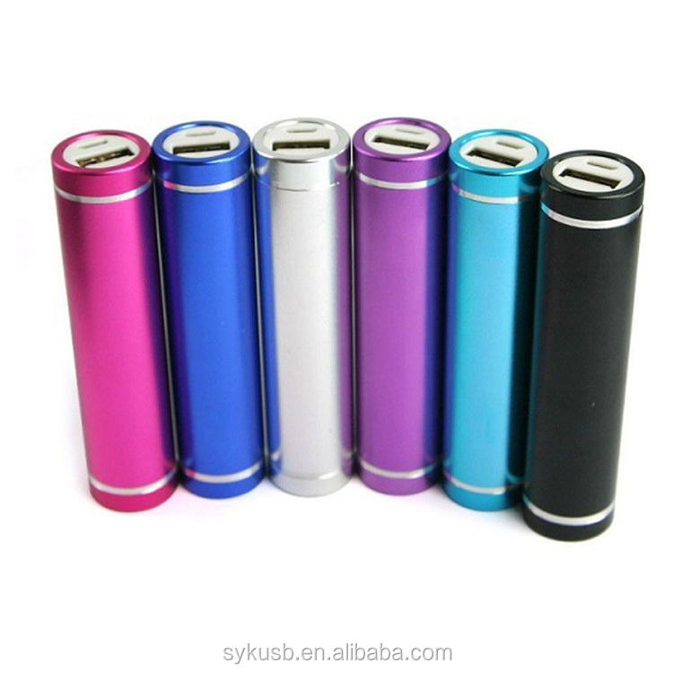 Shenzhen 2600mAh Hot Selling Fashion Power Bank for Cell Phone