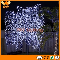 Alibaba Trade Assurance Eco-Friendly Led Lighted Willow Tree