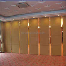 Hotel Moveable partition door sliding folding Partition Wall Wall Partition