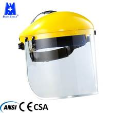Taiwan Manufacturer Heat Resistance Safety Protective Full Transparent Industrial Face Shield Mask