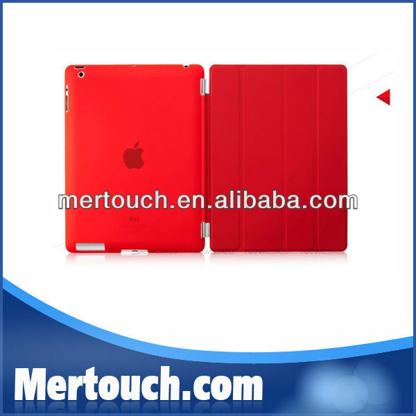 official original for ipad case leather stand smart cover