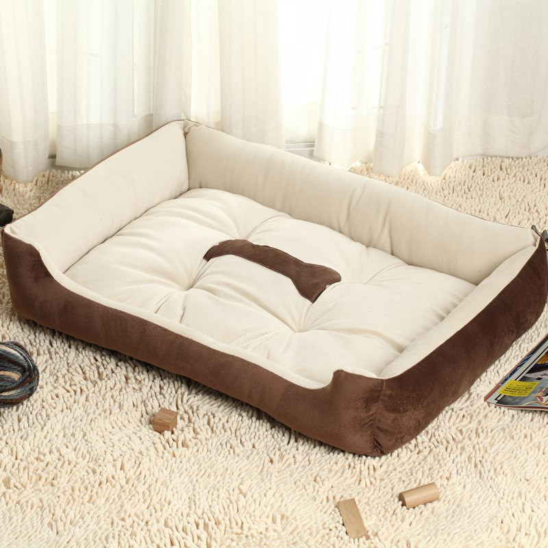 Washable Cotton Soft Ped Sofa Washable Cuddler Dog bed