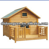 2014 Low Price Wooden Dog House Cage