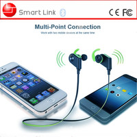 Shenzhen mobile phone accessory MTK version wireless bluetooth earphone with high sound quality
