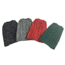 Wholesale Multi Color Fashion Comfortable Cable Knit Sleeveless Pet Sweater dog