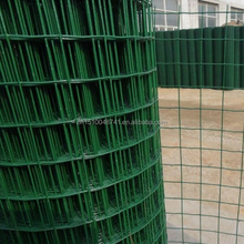 6X6pvc coated/plastic coatedreinforcing welded wire mesh/welded utility wire fence
