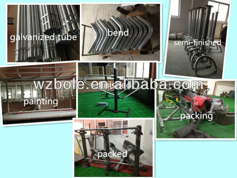 Galvanized Steel Fitness Equipment Overhead Ladder, physical exercise and outdoor Aerial Ladder, body strong fitness Monkey Bar
