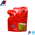 Aluminum Foil Stand up pouch with spout for furit juice