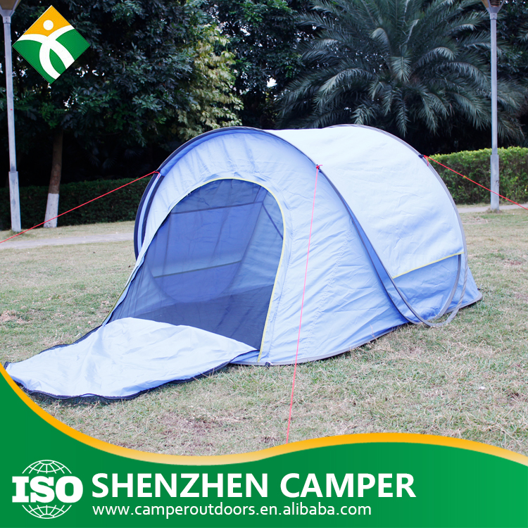 Wholesale personal spring steel wire automatic pop up tent latest products in market