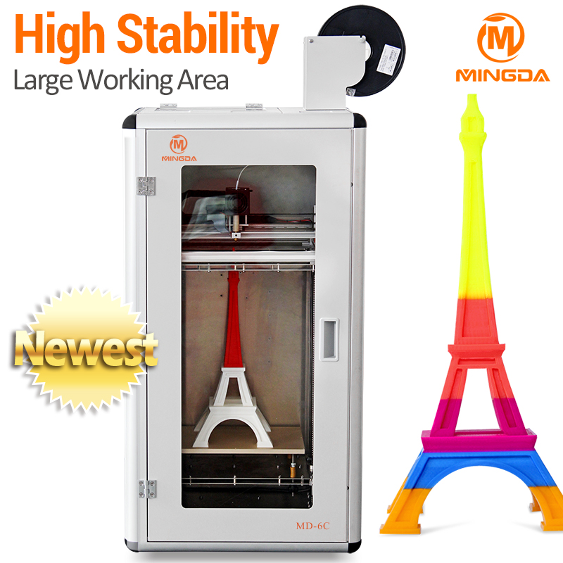 High precision large 3d printer 300*200*500mm / professional metal frame 3d printer
