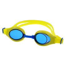 Newest Design Anti-fog kids Swim Goggles with adjustable nose piece anti uv transparent children JR sport swimming goggles