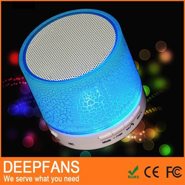 strict time control manufacturer hidden led display mini bluetooth speaker