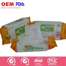 Wholesale Sweet Carefor bamboo baby wet wipes 1pack MOQ Looking for agent in USA. UK.Australia. HK.Africa etc.