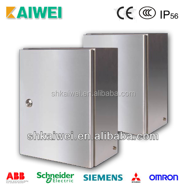 IP65 waterproof stainless steel electrical enclosure