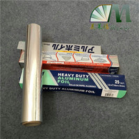 heavy duty household aluminum foil food wrapping paper for baking storing cooking widely used