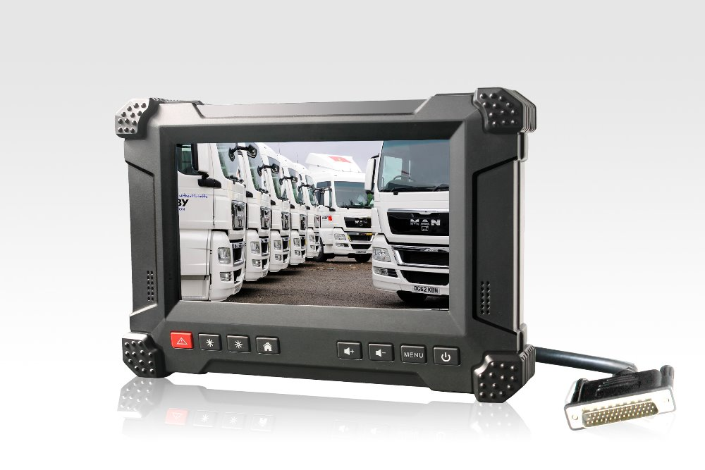 7 inch Android 2.3 Taxi Dispatch System Device with 3G, GPS, Wifi, Bluetooth, CAN Bus, IP54 Robust WinCE Tablet