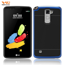 Top selling products bumper mobile phone case dual layer protective cover for LG stylo2 plus