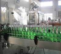 Automatic vodka / wine bottling plant