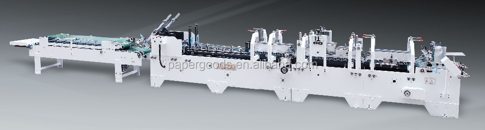 Hot Selling Paper Folding Machine Used Bottom Lock gluing forming machine