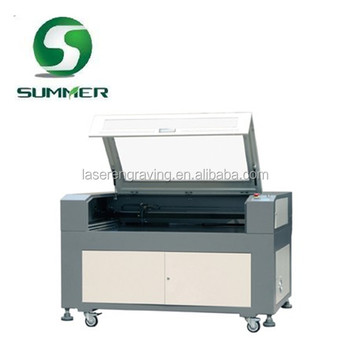 SM1290 120*90 100W cheap double heads plywood wood mdf engraving cardboard cutting high quality laser engraving machine